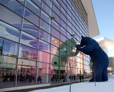 Colorado Convention Center employees participate in CCC Green Week Challenge.