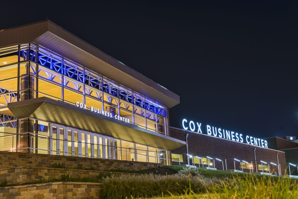 Cox Business Center installing water-saving landscaping and donates to sustainable food initiative for Earth Day.