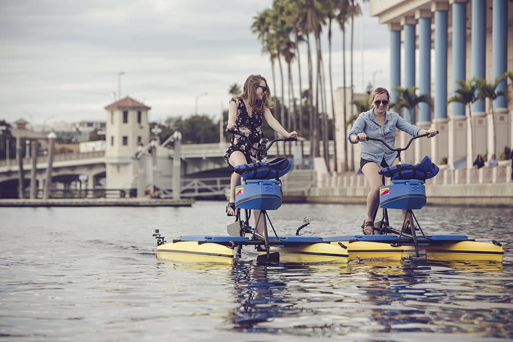 Water Activities Splash Down At Tampa Convention Center