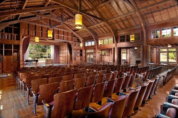 Staff at Asilomar Conference Grounds practice sustainability.