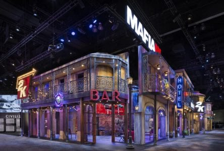2K Exhibit E3 2016, Las Vegas Freddie Georges Production Group Padgett and Company Job#4034