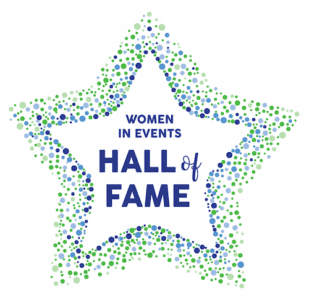 Women in Events Hall of Fame logo
