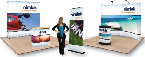 Nimlok Portable Exhibition Stand : Nimlok st. louis exclusively serves local sl market exhibit city news