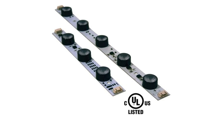 DS&L Offers LED Modular Strips in Programmable, Changing Color, RGB Format