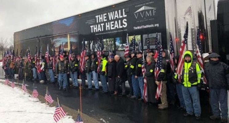 Creatacor Builds Largest Scale Replica of Vietnam Veterans Memorial