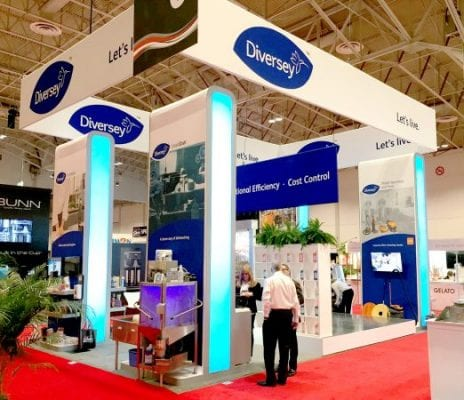 TradeTec Client Wins Best Large Booth Award at Restaurants Canada Show