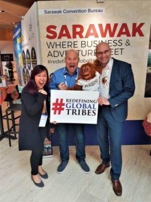 Sarawak CB at Associations World Congress in Antwerp