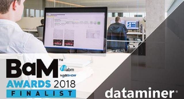 Skyline Communications  IABM BaM Awards Finalist