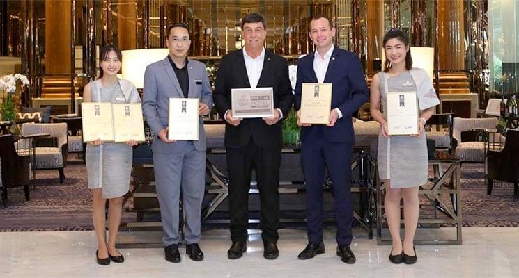 Bangkok Marriott Marquis Queen's Park Wins Six Awards