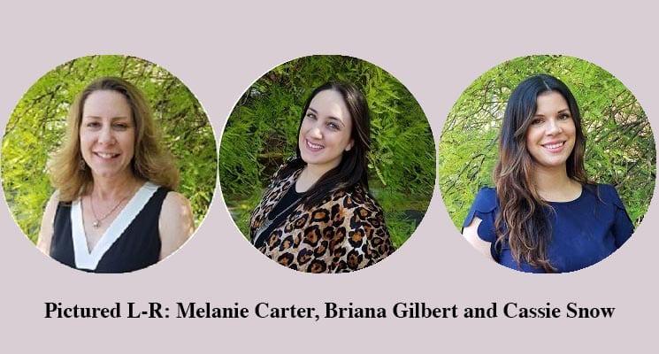 Edlen-3-promotions-Melanie-Carter-Briana-Gilbert-and-Cassie-Snow-