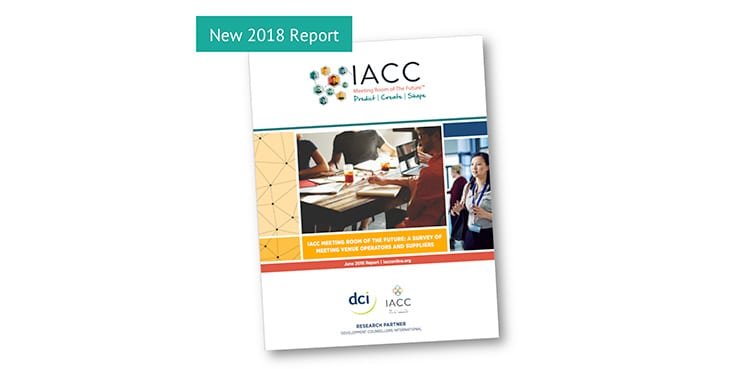 "IACC Publishes ""Meeting Room of the Future"" Report 2018"