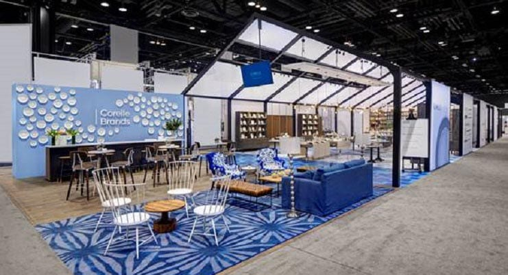 Dash Design Creates Award-Winning Booth Design For Corelle Brands
