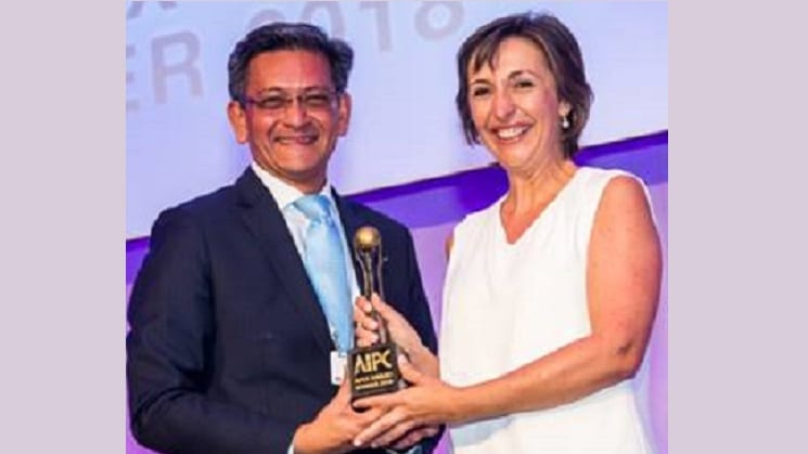 Valencia Conference Centre Wins 2018 AIPC Apex Award