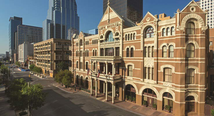Share Ghost Stories at Austin's Driskill Hotel