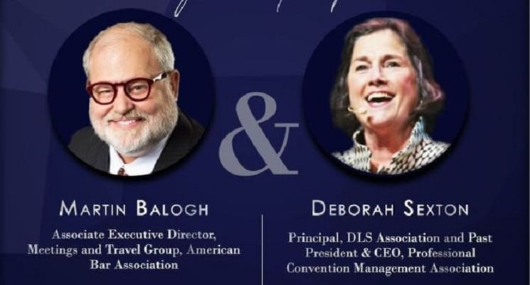 PCMA To Honor Martin Balogh & Deborah Sexton