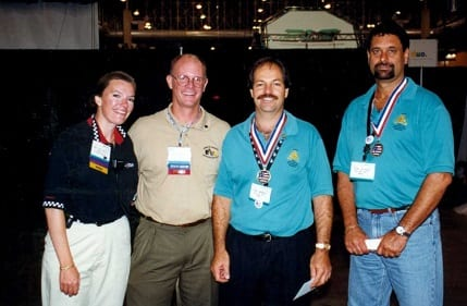 Trade-Show-Olympics_1999_winners Cliff Germano and Al Lichtman
