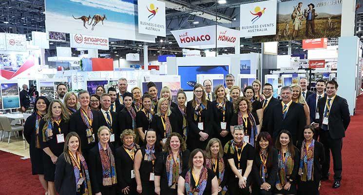 Australians Break Record at IMEX America 2018