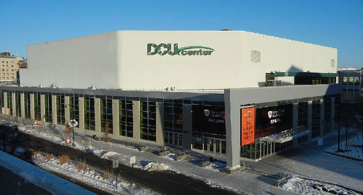 Q & A with Jim Moughan at Worcester's DCU Center