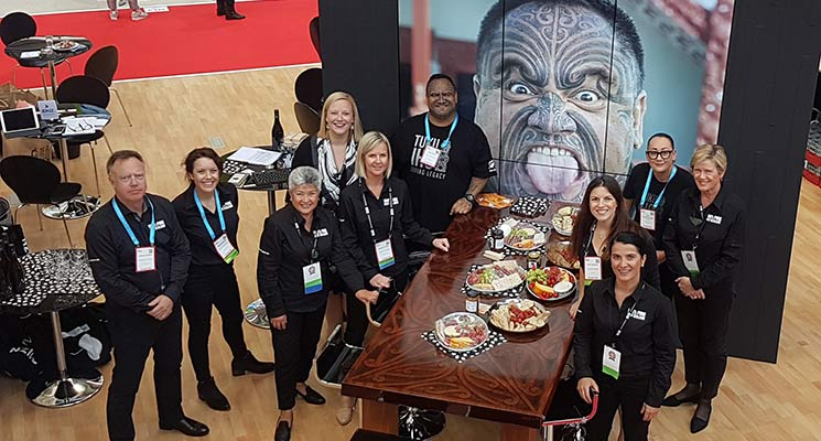 Tourism New Zealand Bringing 'Korero' and 'Kai' to Barcelona for IBTM World