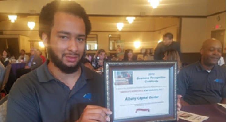 Albany Capital Center Receives 2018 National Award