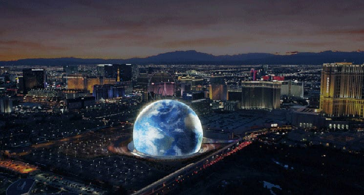 MSG Sphere at The Venetian to Open in 2021