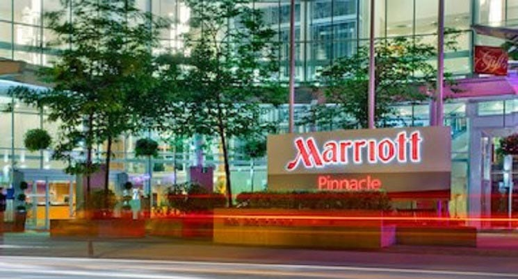 Vancouver Marriott Pinnacle Downtown Unveils New Event Space