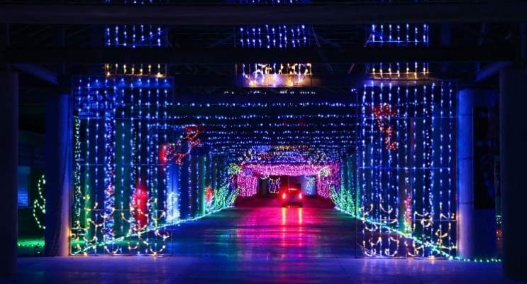 Design To Print & SEG Warehouse Partner for Glittering Lights