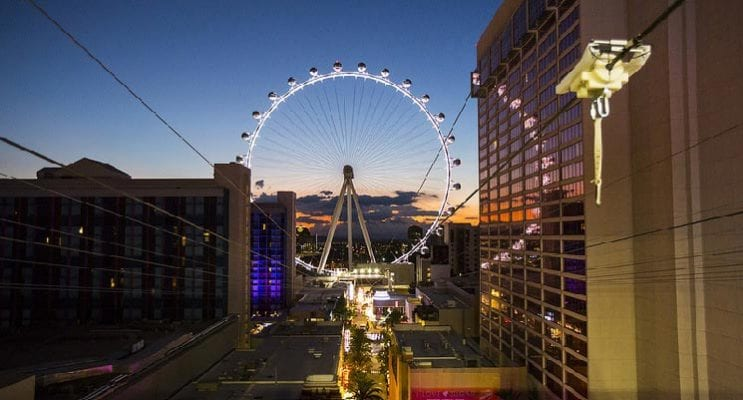 Caesars Entertainment's FLY LINQ Opens to Public