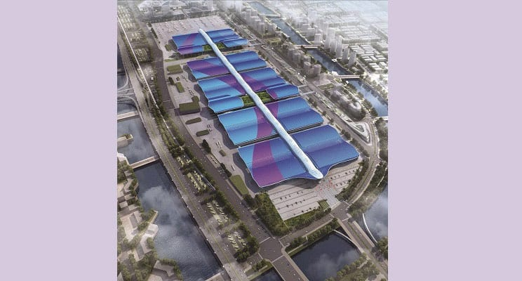 Industry News: Building the World's Largest Convention Center