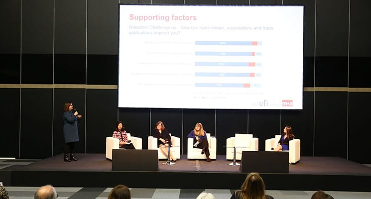 "UFI Releases Research Results on ""Women in the Exhibition Industry"""