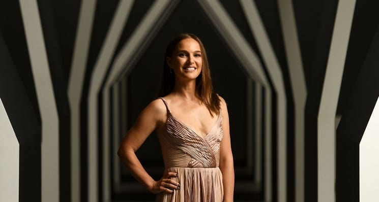 Natalie Portman in Australia for Melbourne Gala Event