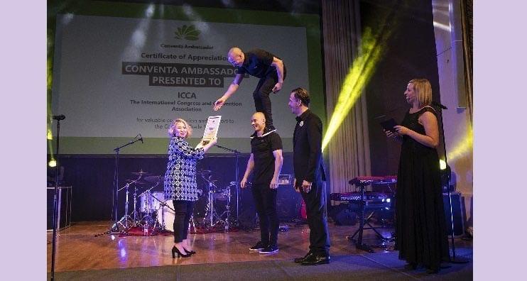 ICCA Receives Conventa Ambassador 2019