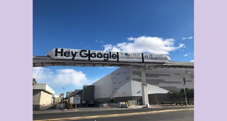The Las Vegas Monorail is Ready for CES 2019