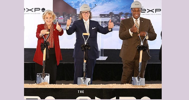The Expo at World Market Center Breaks Ground for 2020 Opening