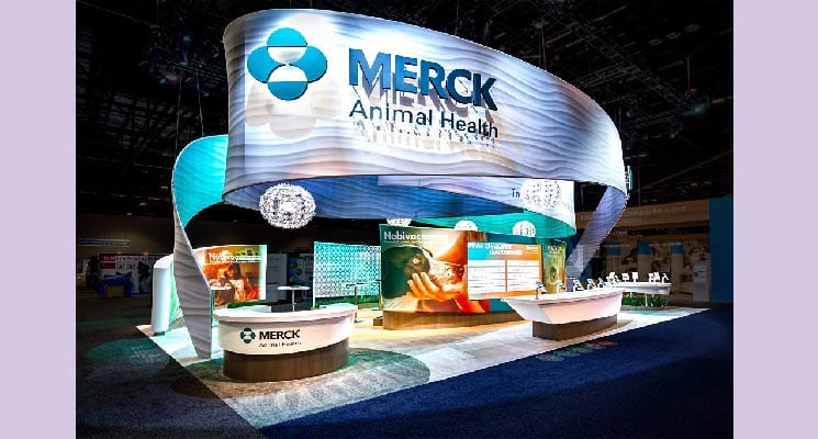 3D Exhibits and Merck Animal Health Wins VETTY Best in Show
