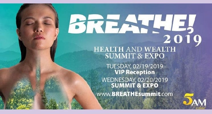BREATHE! Health and Wealth Summit & Expo Feb. 20 at UNLV