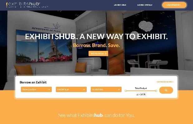 Exhibitshub Launches First Exhibit Sharing Marketplace