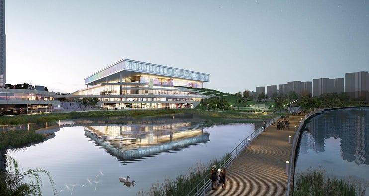 Korea Unveils New Convention Center in Suwon