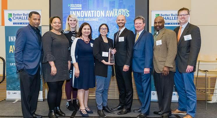 LACC Wins Sustainability Award