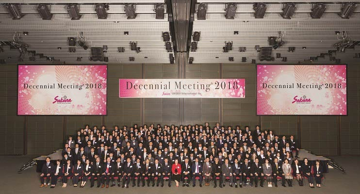 Sakura International Celebrates Its Decennial