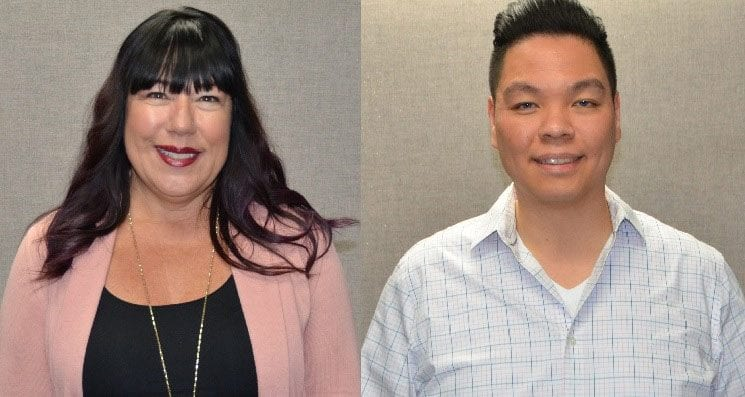 Skyline Displays Hires Kellie Migliaccio and Dennis Moy