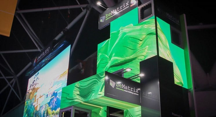 beMatrix LEDskin Creates High-Definition Video