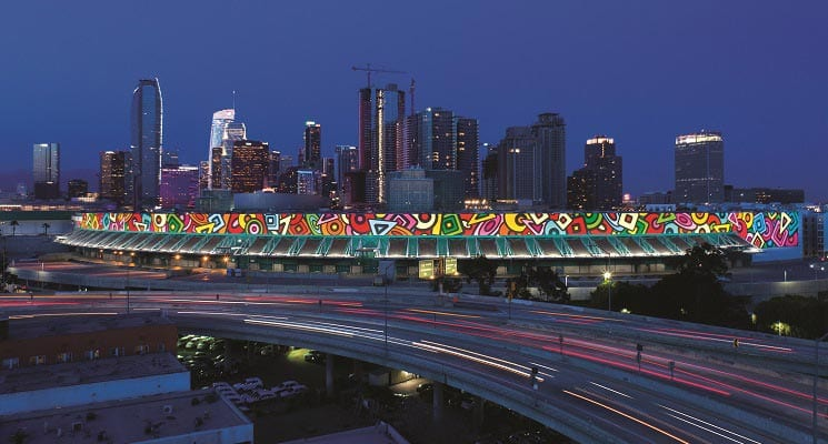 L.A. Convention Center Unveils Largest Public Art Project
