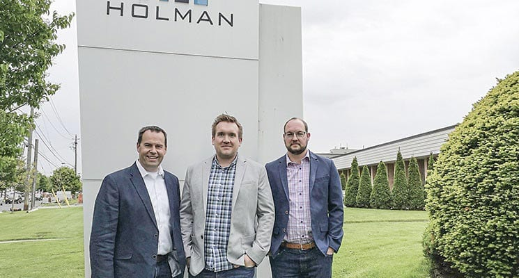 Holman Exhibits Promotes Three to Executive Positions