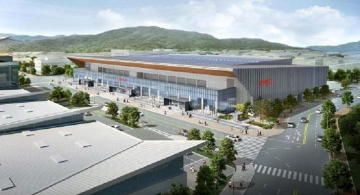 Second Exhibition Hall Breaks Ground in Daegu