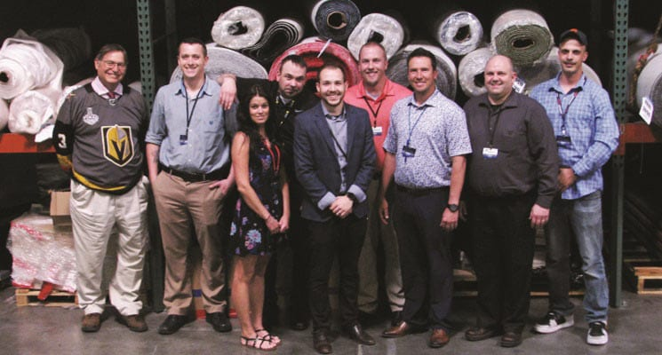 D.E. McNabb Flooring Opens Las Vegas Office with a Party!