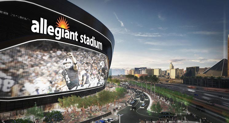 Allegiant Buys Naming Rights for LV Stadium