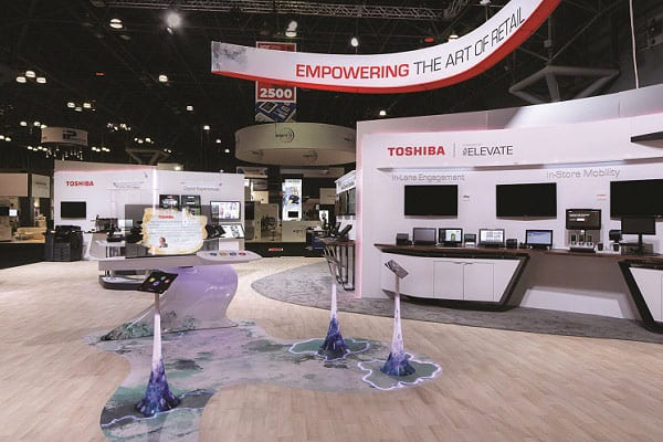 Shop to Showfloor: Exhibit Design Trends Focus on Conversation