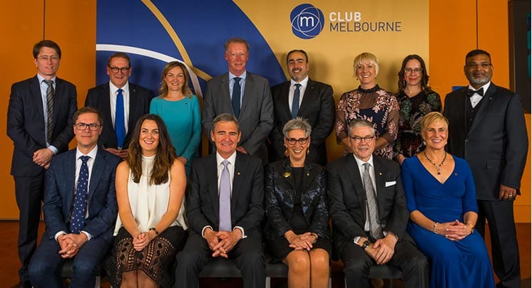Club Melbourne Inducts 10 New Ambassadors