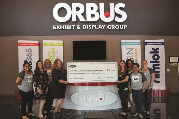 CSR: Orbus Exhibit & Display Group Fundraises for Charities